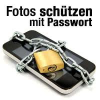 Fotos mit Passwort schützen
