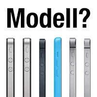 iPhone-Modell bestimmen anhand der Modellnummer