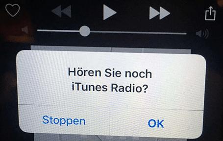 iTunes RAdio und Apple Music werden unterbrochen