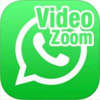 Zoomen bei WhatsApp Video-Aufnahme