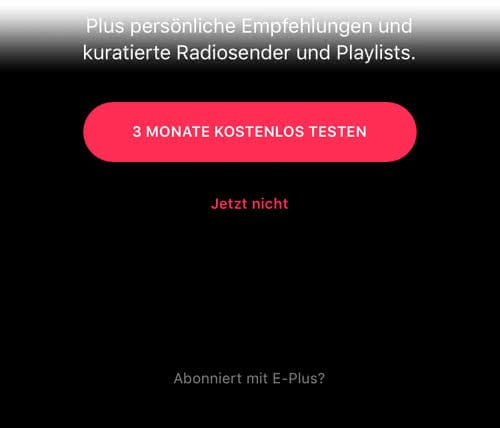 Apple Music E-Plus