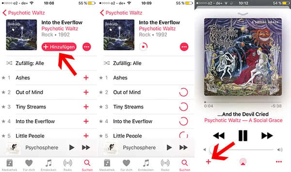 Automatische Downloads in Apple Music nutzen