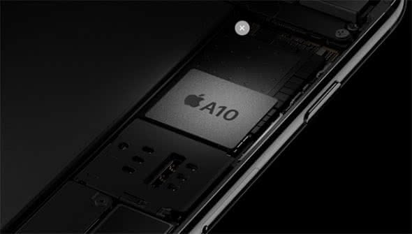 "iPhone 7 ""A10 Fusion""-Chip"