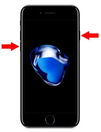 IPHONE 7 MIT TASTENKOMBINATION NEU STARTEN