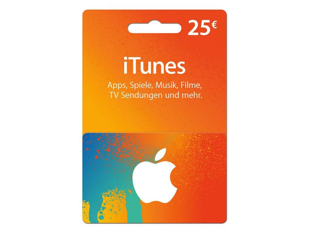 Kaufland mit Rabatt bei 25 iTunes-Karten