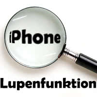 Lupenfunktion iOS 10