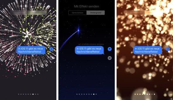 Feuerwerk, Sternschnuppe & Funkenregen