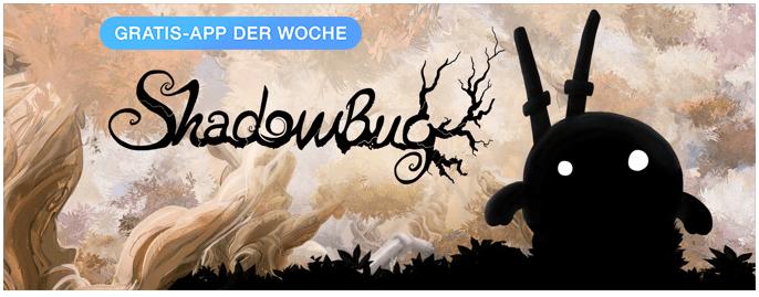 "Shadowbug ist ""App der Woche"""