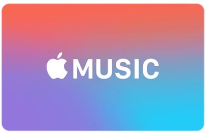 Appel Music verschenken ist einfach