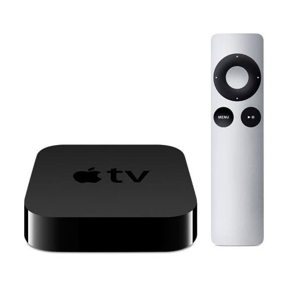 Apple TV 3 mit Fernbedienung