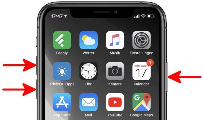 Wartungszustand aktivieren auf dem iPhone