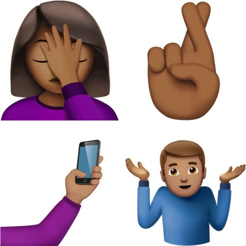 Emoji: Gesten in iOS 10.2