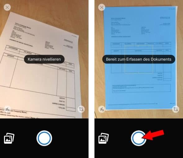 Dokumente scannen mit Adobe Acrobat Reader