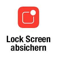 Angezeigte Infos am Lock Screen einschränken für mehr Privatsphäre