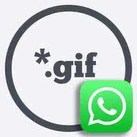 WhatsApp GIF senden - Logo