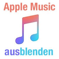 Apple Music ausblenden in Musik App