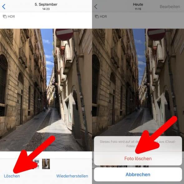 Iphone Fotos Löschen Papierkorb