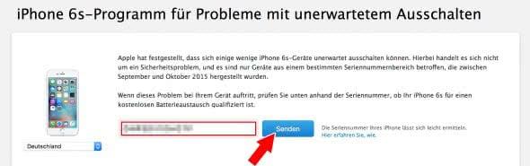 Herausfinden, ob iPhone qualifiziert ist