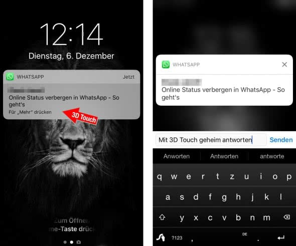 "WhatsApp ""Online""-Status verbergen"