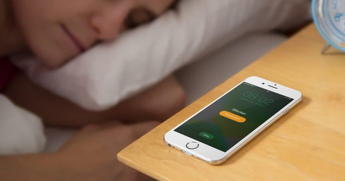 Schlummern Iphone