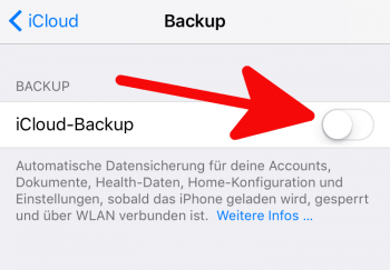 iPhone Backup erstellen 2