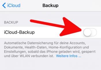 iPhone Backup erstellen 2