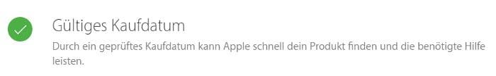 iPhone Garantiestatus überprüfen – Kaufdatum