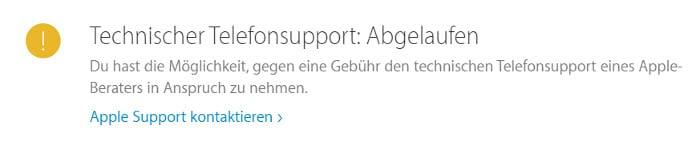 iPhone Garantiestatus überprüfen – Telefonsupport