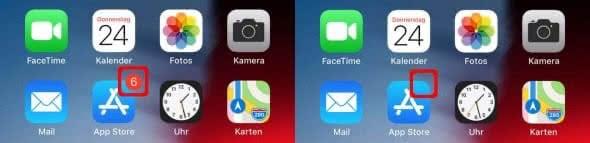 iPhone Kennzeichenzähler bei der App Store App