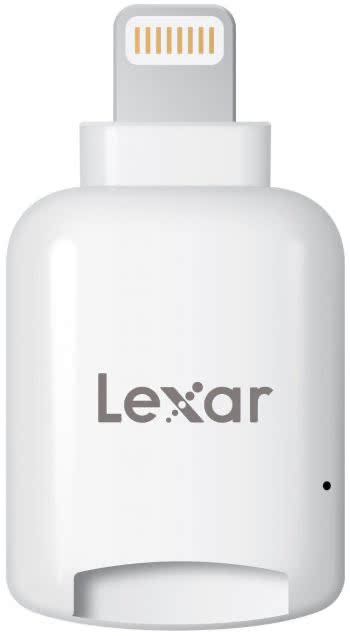 Lexar microSD To Lightning Lesegerät