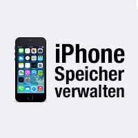 iPhone-Speicherplatz verwalten
