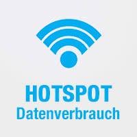 Persönlicher Hotspot – Datenverbrauch herausfinden