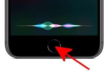 Siri aktivieren über iPhone Home Button
