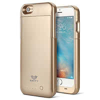 Battery Case für das iPhone 6/6s in gold