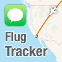 Flug verfolgen mit Nachrichten App & Flugnummer