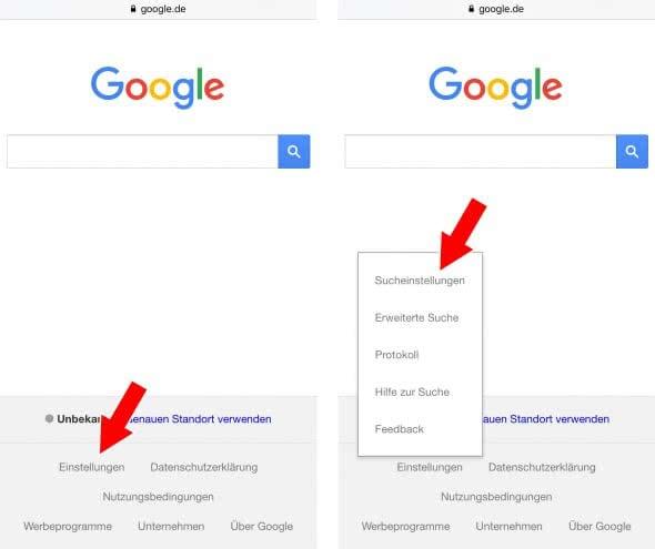 Google SafeSearch aktivieren