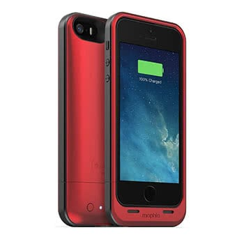 Rotes Battery Case für das iPhone 5/5s