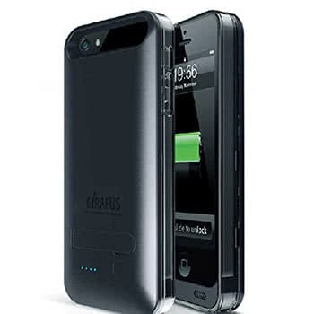 Schwarzes iPhone 5/5s Battery Case