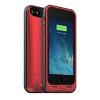 Rotes Battery Case für iPhone 5/5s