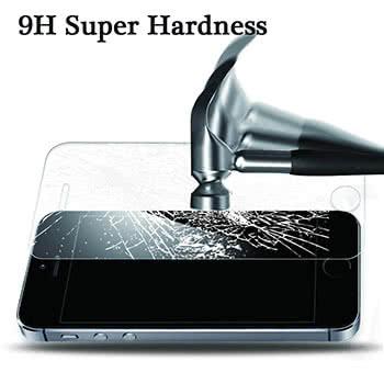 Displayschutzfolie mit Härtegrad 9H für das iPhone 5/5s