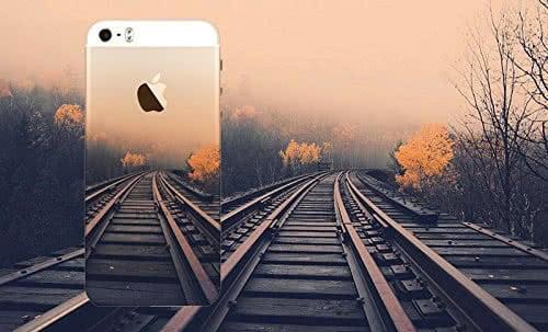 Bedruckte Schutzhülle eine iPhone 5/5s mit dem passenden Bild im Hintergrund