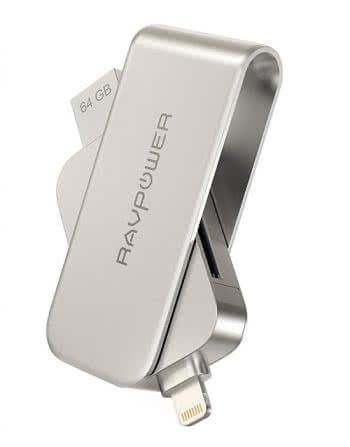 RAVPower Flash-Laufwerk mit SD-Kartenleser