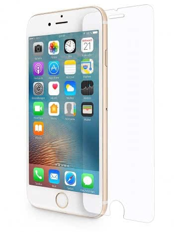 Panzerlgasfolie von Wiiuka fürs iPhone 7 Plus