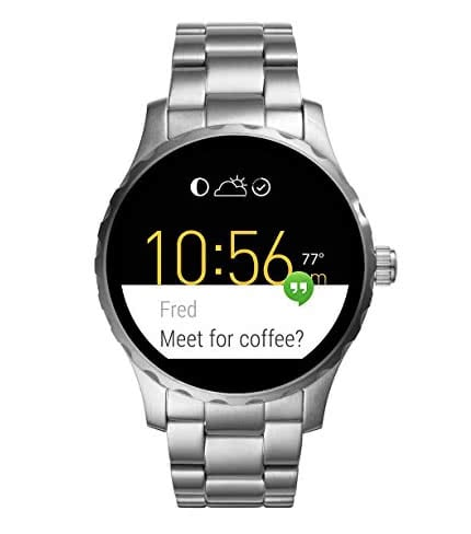 fossil q marshal smartwatch im test. Black Bedroom Furniture Sets. Home Design Ideas
