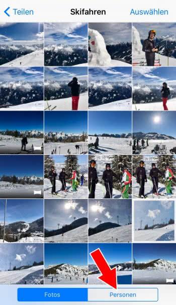 iCloud-Fotoalbum veröffentlichen