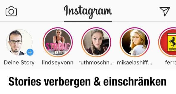 Instagram Stories verbergen & Antworten einschränken