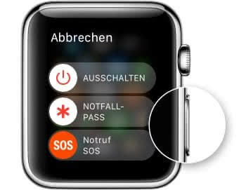 Apple Watch neu starten