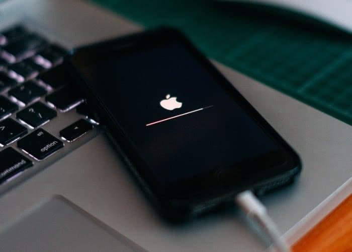 iPhone Ladebalken