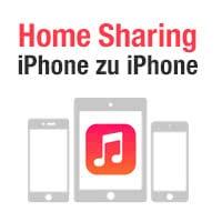 Musik zwischen iPhones teilen mit Privatfreigabe