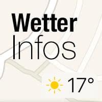 Ortsbezogene Wetterinfos in Karten-App anzeigen